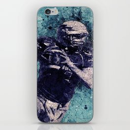 Football Player iPhone Skin
