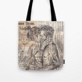 Morning Kiss Tote Bag