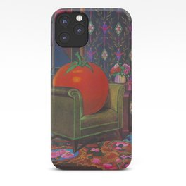 Therapy With A Tomato Milton Glaser - Tomato- Something unusual is going on here - 1978 iPhone Case