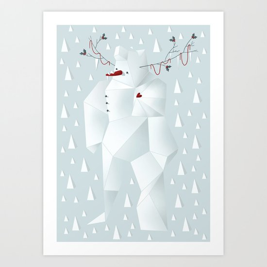 Winter Freez Art Print