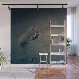 Feet on Sand-Dark Wall Mural