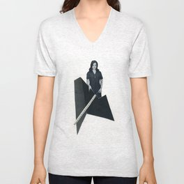 this modern world Unisex V-Neck