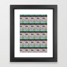 Pelican Pattern (b) Framed Art Print