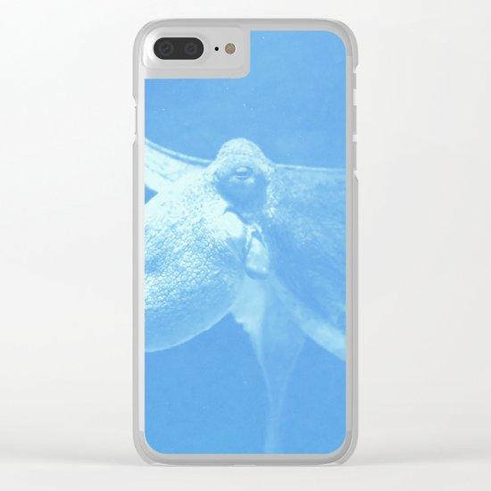 Octopus Dance Clear iPhone Case
