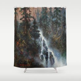 The Edge of Forever Shower Curtain