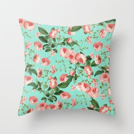 Rosy Life #society6 #decor #buyart Throw Pillow