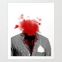 danny ivan Art Prints featuring Danny by NicholasB