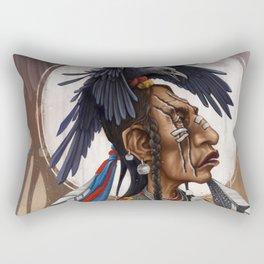 Medicine Crow Rectangular Pillow