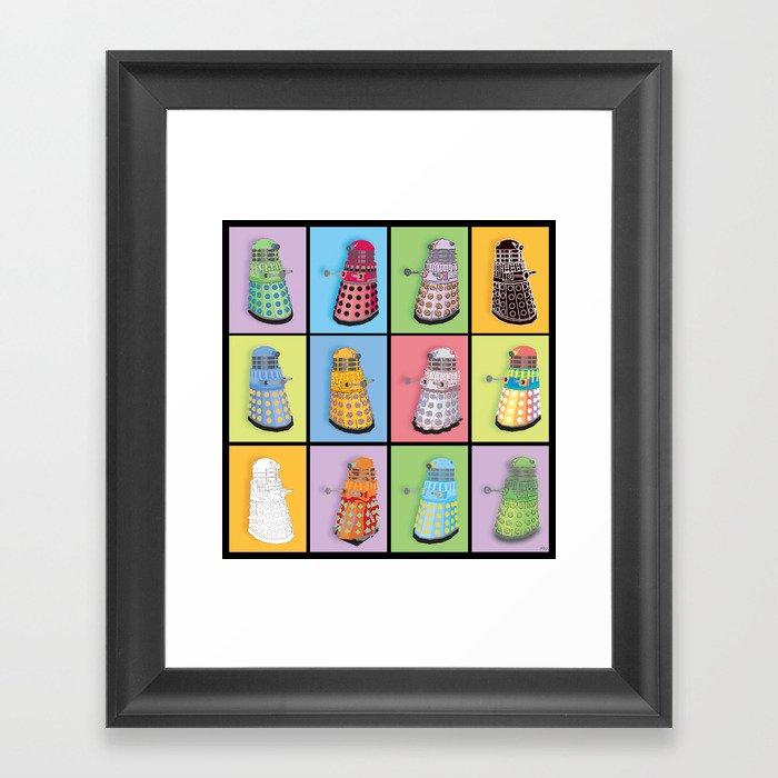 Dalek Dreams Framed Art Print