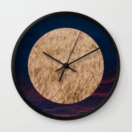 Little Planet #02 Wall Clock