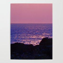 Pink at Dawn Poster