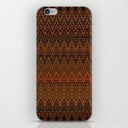 Autumn Chevrons iPhone Skin