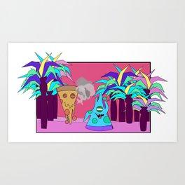 Pizza Planet Art Print