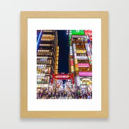 Kabukicho Framed Art Print
