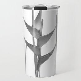 Three Heliconia black white Design Travel Mug