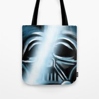 returns Tote Bags featuring Anakin Returns by TLCreations