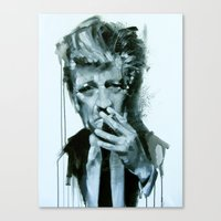 david lynch Canvas Prints featuring David Lynch by Marco Draisci