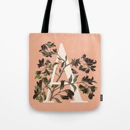 Letter A for Amelanchier Tote Bag
