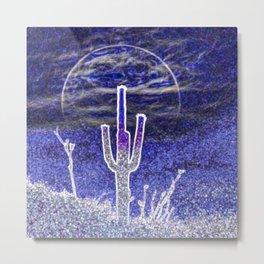 Saguaro Moonrise by Murray Bolesta! Metal Print