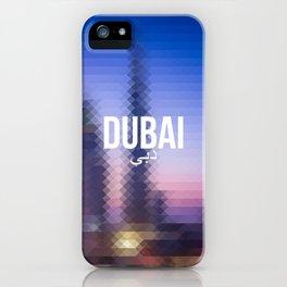 Dubai - Cityscape iPhone Case