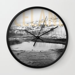 Iceland - Landscape Wall Clock