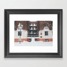 Empty Streets Framed Art Print