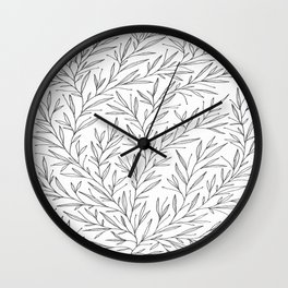 Branches of Pencil Design Wall Clock