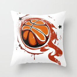 Basketball Best Basketball Player & Fan Gift Throw Pillow