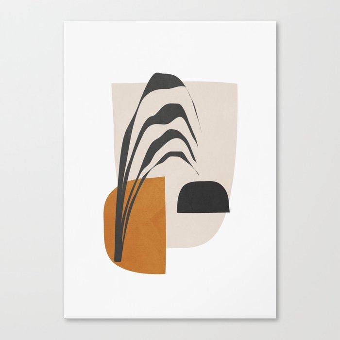 Abstract Shapes 3 Canvas Print