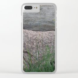 Campfire Comforts no. 1 Clear iPhone Case