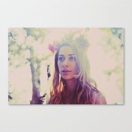 (Beauty Untitled) Canvas Print