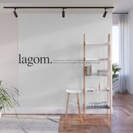Lagom -Wiki Wall Mural