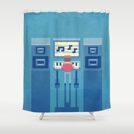 The electronic musician Shower Curtain