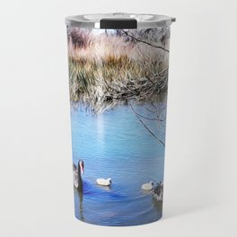 Lake Wendouree Black Swans Travel Mug