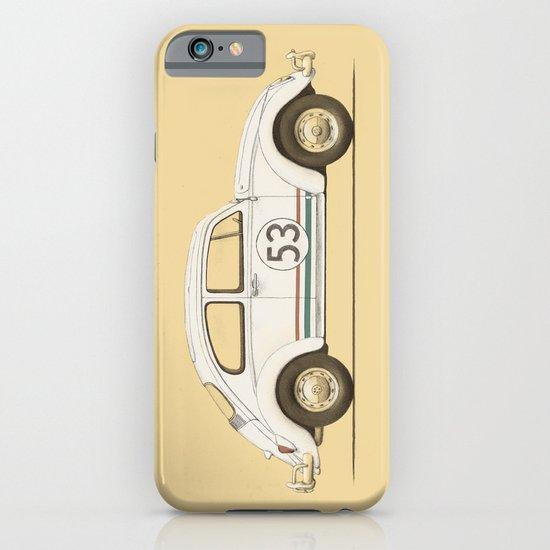 Famous Car #4 - VW Beetle iPhone & iPod Case