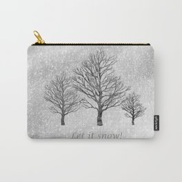Let it Snow! Carry-All Pouch
