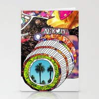 palm Stationery Cards featuring Picture This by Bianca Green
