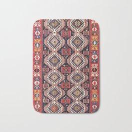 Shirvan East Caucasus Kilim Print Bath Mat