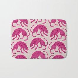 Wild Cats - Pink Bath Mat