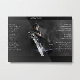 Final Fantasy Metal Print