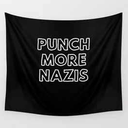 Punch More Nazis Wall Tapestry
