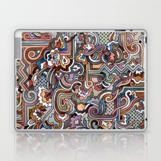 Rayas y rulos Laptop & iPad Skin