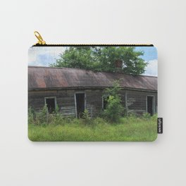 Abandoned Farmhouse front view Carry-All Pouch