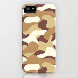 Desert camo 2 iPhone Case