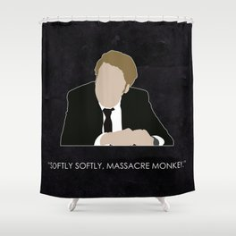Being Human - Nick Cutler Shower Curtain