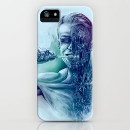 Hygienic Zombie iPhone Case