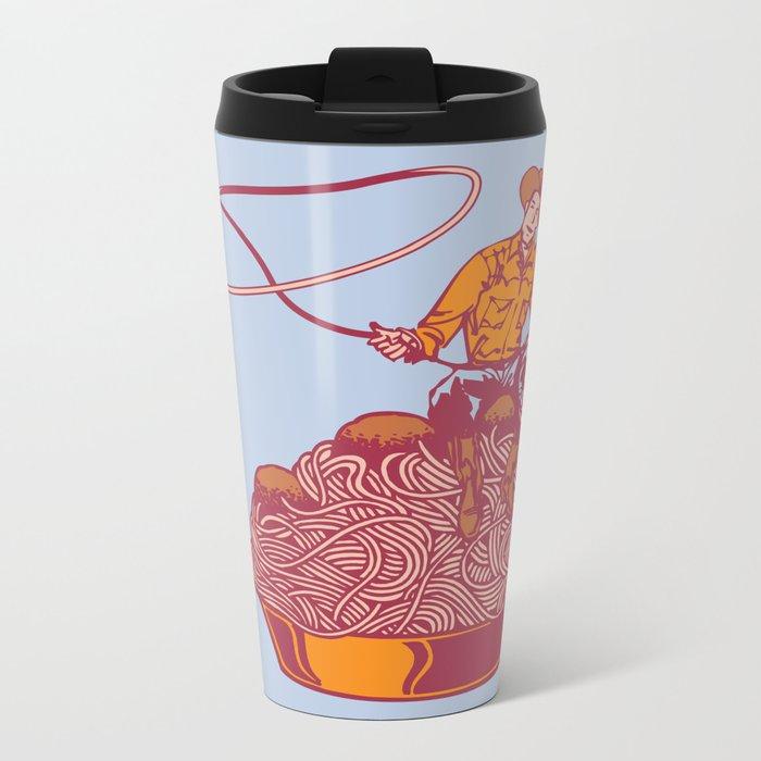Spaghetti Western Metal Travel Mug