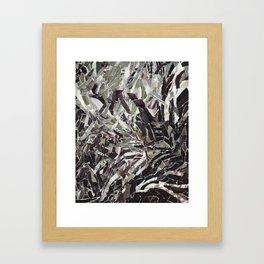 Glacis Framed Art Print