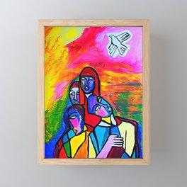 The White Dove (ORIGINAL SOLD)  Framed Mini Art Print