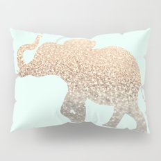 ELEPHANT - GOLD MINT Pillow Sham